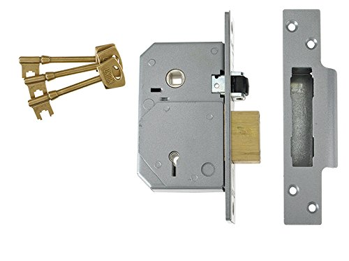 Union Locks C-series 5 Lever Mortice Rollerbolt Sashlock Brass 67mm
