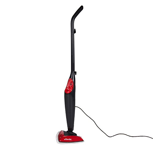 Vileda Steam Mop, Uk Version-black