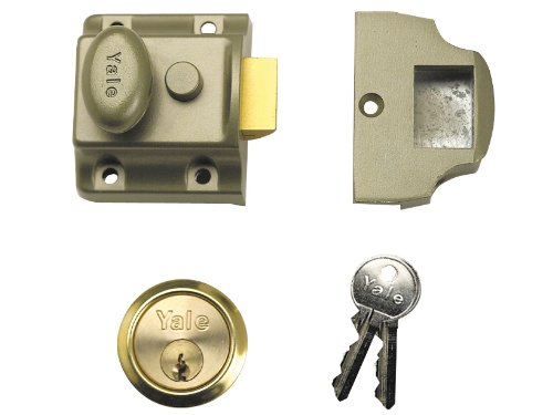 Yale Locks 706 Traditional Nightlatch 40mm Backset ENB Finish