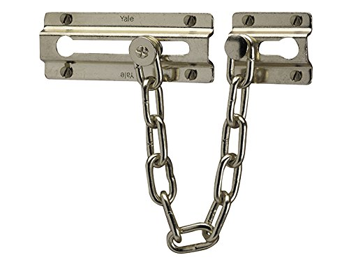 Yale Locks P1037 Door Chain Chrome Finish