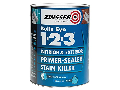 Zinsser 123 Bulls Eye Primer & Sealer Paint 1 Litre