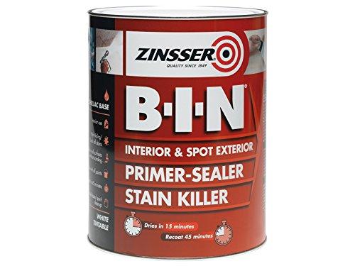 Zinsser B.i.n Primer & Sealer Stain Killer Paint 1 Litre
