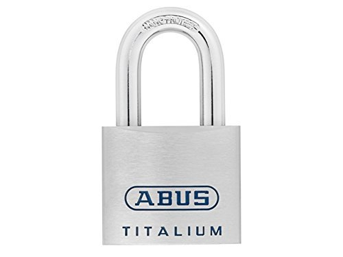 ABUS Mechanical 96TI/50 Titalium Open Shackle Padlock 50mm