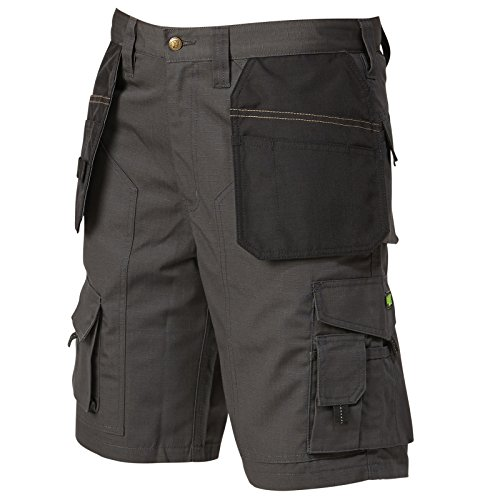 Apache Grey Rip-Stop Holster Shorts Waist 40in