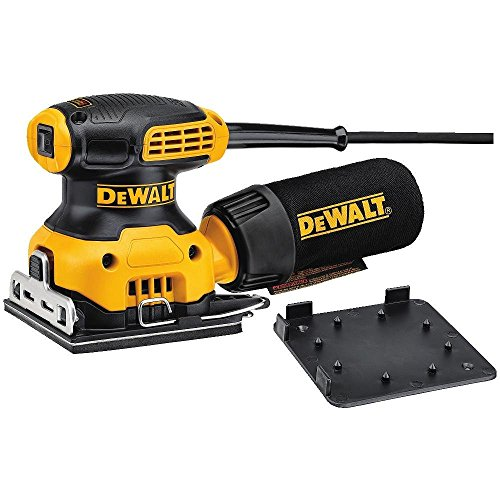 Dewalt Dwe6411-gb Sheet Sander, 240 V, Yellow/black, Set Of 3 Piece