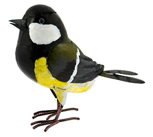 Green Jem Metal Great Tit Garden Decoration