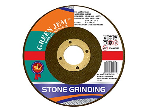 Green Jem Stone Grinding Discs - Pack Of 5