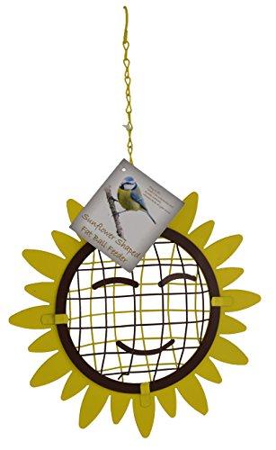 Green Jem Sunflower Shaped Fat Ball Wild Bird Feeder