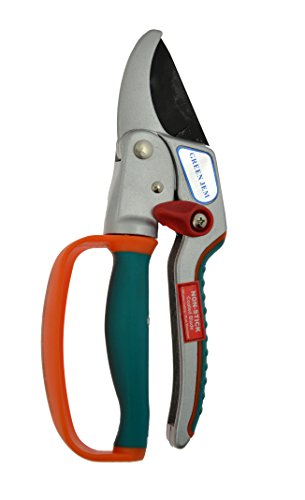 Green Jem Super Ratchet Secateurs - Orange
