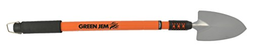 Green Jem Telescopic Handle Trowel - Orange
