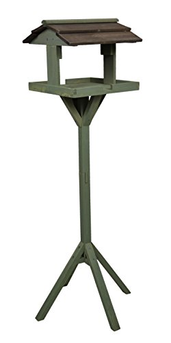 Green Jem Wooden Bird Table