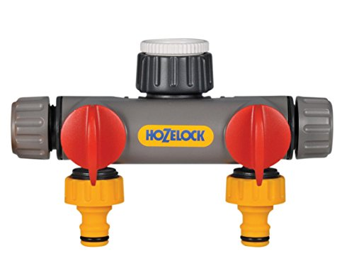 Hozelock 2-way Tap Connector