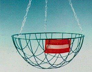 Green Jem Hanging Basket (12'')