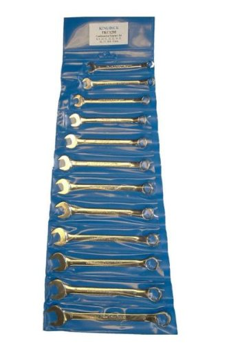 King Dick Metric 8 - 19mm 12 Piece Combination Wrench set