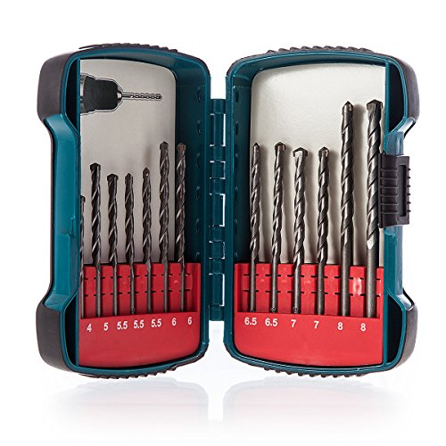 Makita P-51889 Masonry Drill Bit Set (13- Piece)