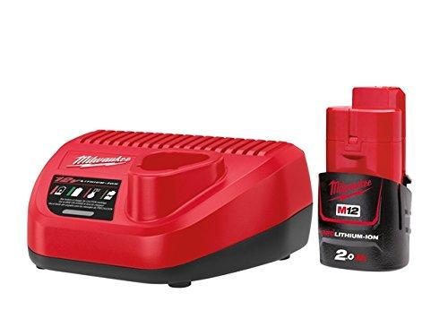 Milwaukee Energy Kit 12V 1 x 2.0Ah Li-Ion