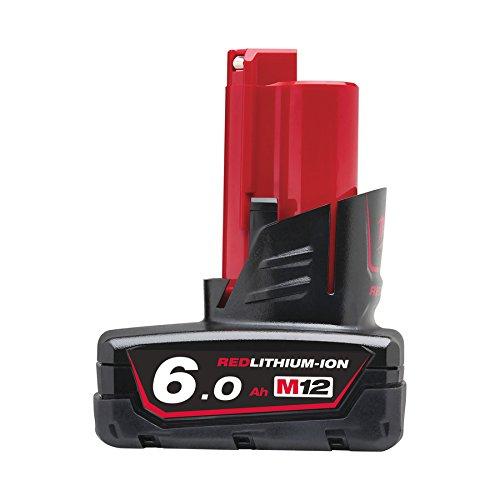 Milwaukee REDLITHIUM-ION™ Battery Pack 12V 6.0Ah Li-Ion