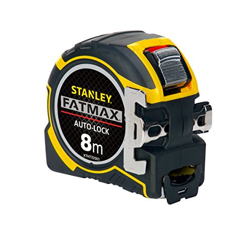 Stanley Tools FatMax® Autolock Pocket Tape 8m (Width 32mm) (Metric only)