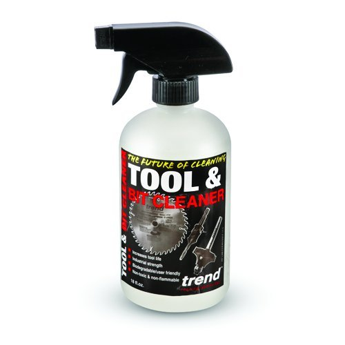 Trend Clean/500 532 Ml Tool And Bit Cleaner - White