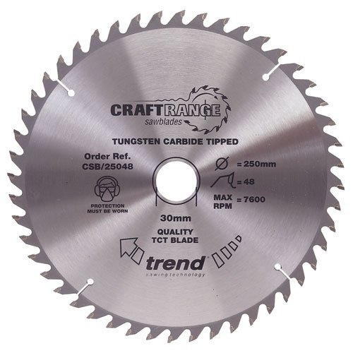 Trend Craft Saw Blade 160mm X 48t X2.2x20mm