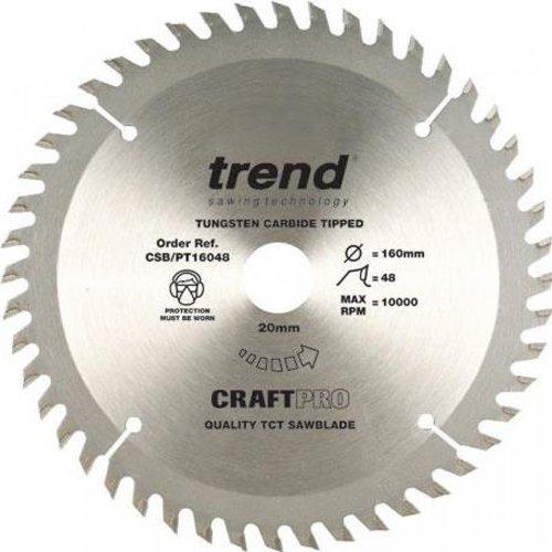 Trend Craft saw blade panel trim 160mm x 48 teeth x 20mm