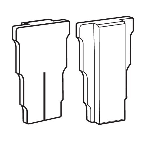Trend Pair of nylon setting blocks for LOCK/JIG/B