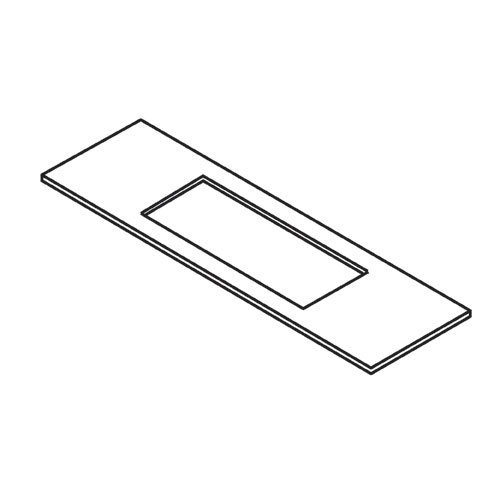 TREND Lock Template 22.2mm x 155mm Faceplate