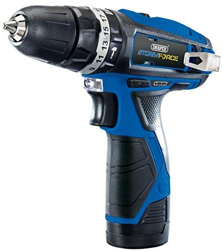 Draper Storm Force® 10.8v Combi Drill Kit