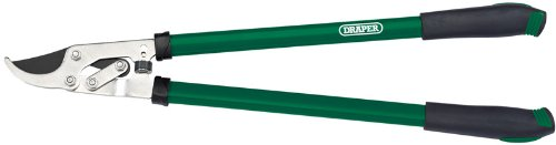 DRAPER 710mm Lever Action Bypass Loppers with Steel Handles