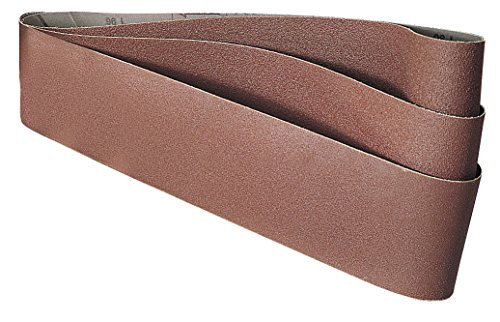 Draper 100 x 915mm 100 Grit Abrasive Sanding Belts Pack of 3
