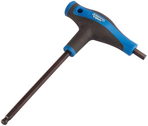 Draper Expert 8.0mm Soft Grip 'T' Handle Hexagon and Ball End Key