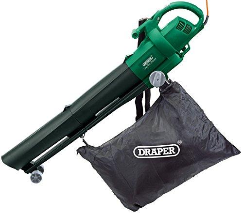 Draper 54477 2500w 230v Garden Vacuum/ Blower/ Mulcher - Green
