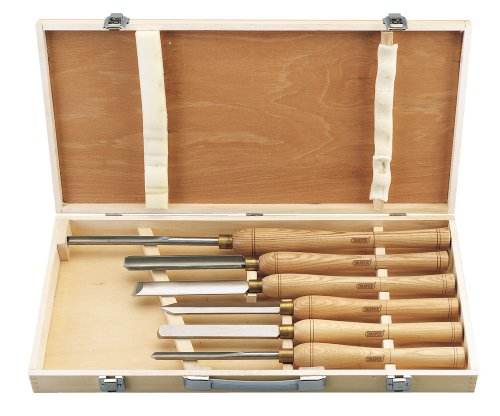 Draper HSS Woodturning Chisel Set (6 Piece)