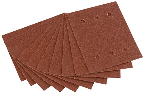 Draper 73523 115 Mm X 145 Mm 60-grit Aluminium Oxide Sanding Sheets (pack Of 10)