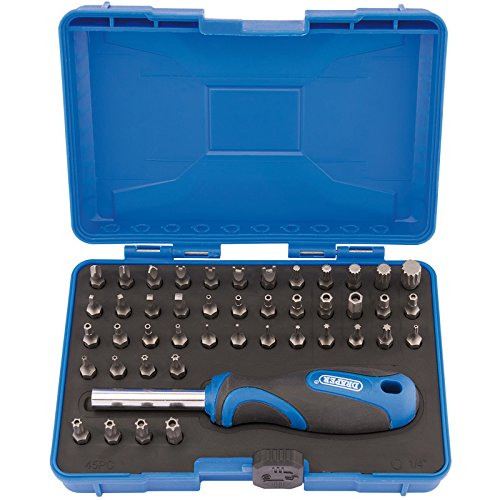 Draper Security Screwdriver Bit and Driver Set (45 piece)