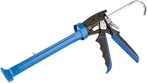 Draper Cgsg Soft Grip Caulking Gun, Blue, 380 Ml