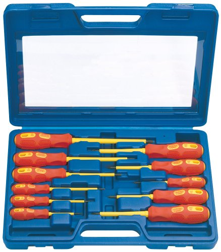 Draper Expert Fully Insulated Screwdriver Set (11 Piece)