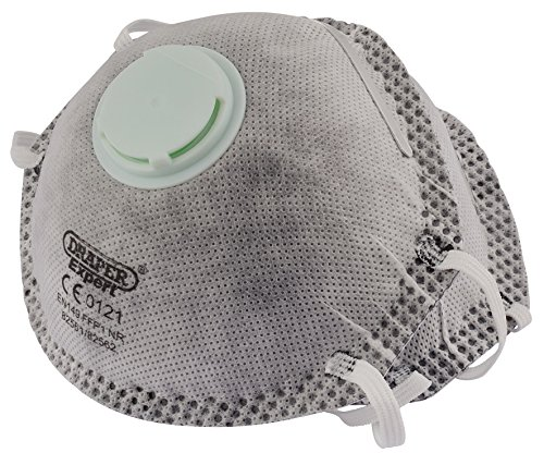 Draper FFP1 NR Masks With Charcoal Activated Filter For Painting and Decorating (pack of two)
