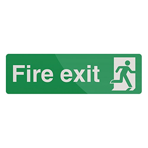 FIXMAN Fire Exit Sign 400 x 125mm