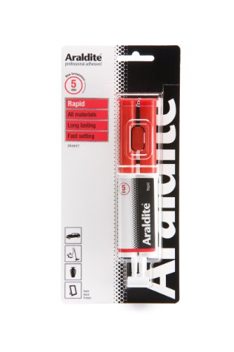 Araldite Rapid Epoxy Syringe 24ml