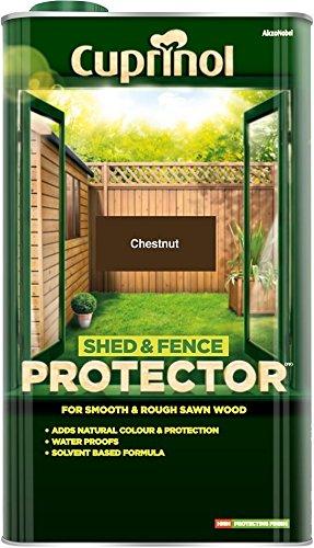 Cuprinol Shed & Fence Protector Chestnut 5 Litre