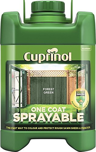 Cuprinol Spray Fence Treatment Forest Green 5 Litre