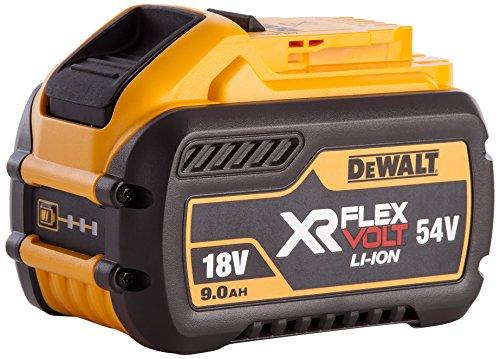 Dewalt Dcb547-xj Xr Flex Volt Battery, 18 V, Yellow/black, 9 A