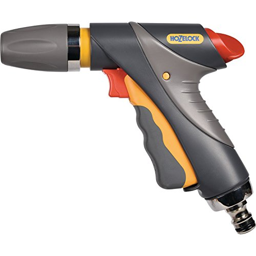 Hozelock Jet Pro Spray Gun, Grey/yellow, 16x10x8 Cm