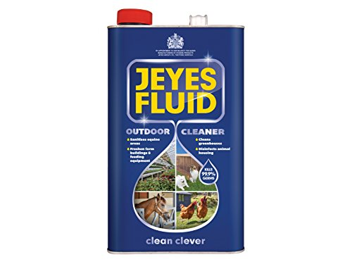 Jeyes 511060 Fluid Outdoor Disinfectant Cleaner, 5 L