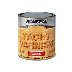 Ronseal Yvg1l 1l Exterior Yacht Varnish Gloss