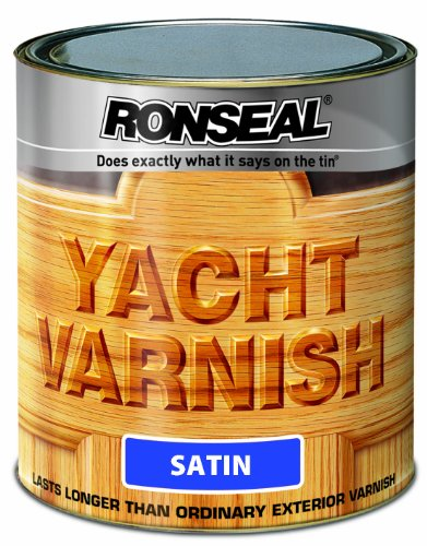 Ronseal Yvs500 500ml Exterior Yacht Varnish Satin