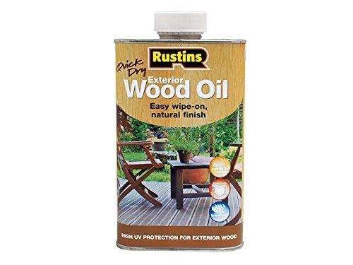 Rustins Exterior Wood Oil 1 Litre