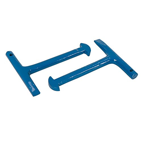 Silverline Manhole Keys 2pk 125mm