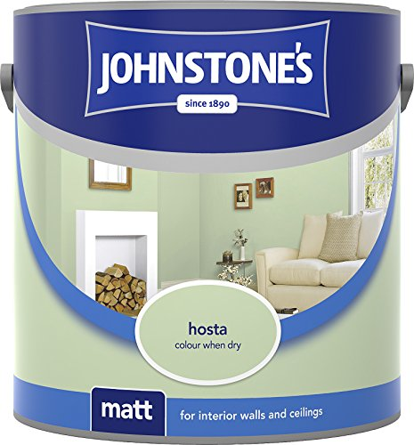 Johnstone's 304021 2.5 Litre Matt Emulsion Paint - Hosta